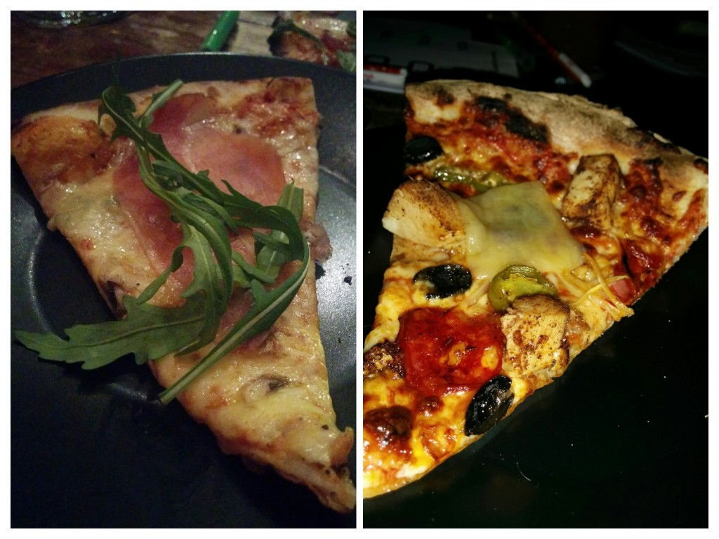 Pizza two and one, just to confuse you