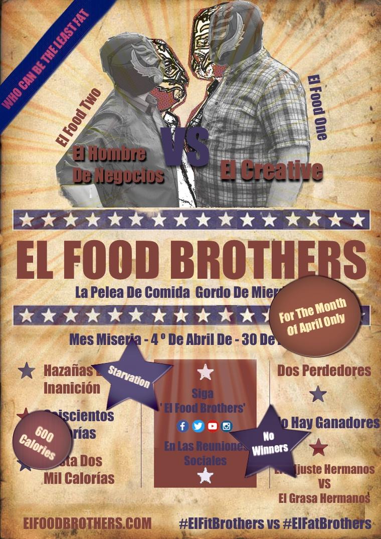 EL Food Brothers El Food One Vs El Food Two One Month Only ElFatBrothers VS ElFoodBrothers